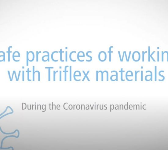 Guidance on working with Triflex materials during the COVID-19 pandemic